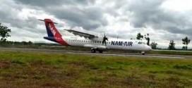 Pesawat NAM Air Sukses Mendarat di Bandara Ngloram Blora, Ganjar: Kita Siapkan Rute